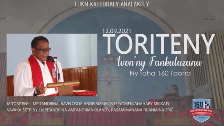 Ivon'ny fankalazana ny faha-160 taona ny FJKM Katedraly Analakely